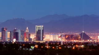 Photo of While Las Vegas is famous for its readily available wedding chapels, it's is also a great spot for honeymooners. From gambling to glitz, golf to hiking, spas to shows, Vegas has a great deal to offer. For a romantic gondola ride, visit the Venetian hotel or Lake Las Vegas, where you and your sweetie can take a moonlit dinner cruise.