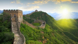 Photo of If you're hoping your honeymoon will transport you to a different world, try China. Travel the Silk Road, sail down the Yangzi, or shop up a storm in Beijing or Hong Kong. No matter where in China you visit, you can't miss the Great Wall, which spans more than 4,000 miles and nine provinces from East to West.