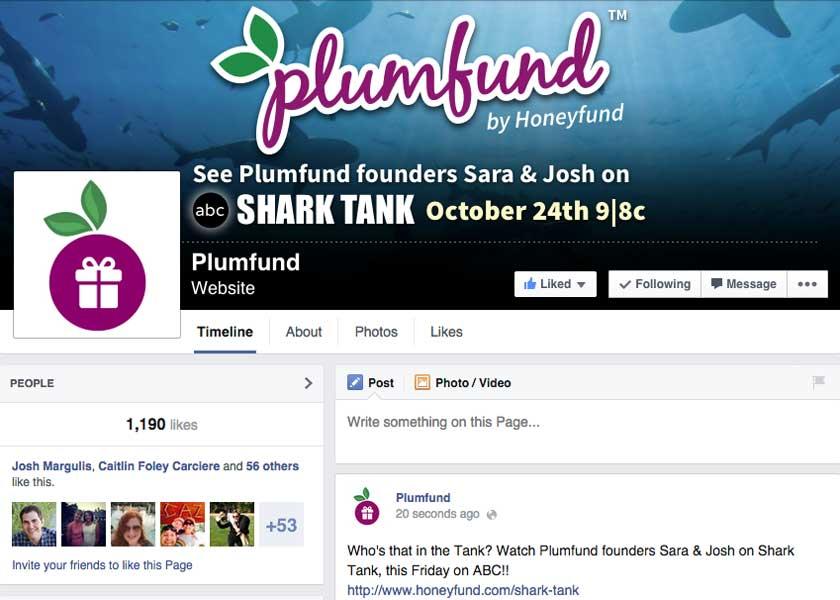 HoneyfundFacebook