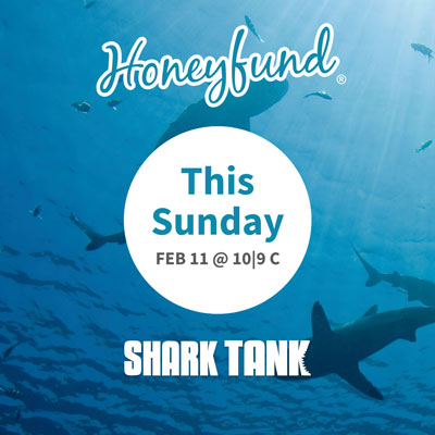 Announcement of Shark Tank airing