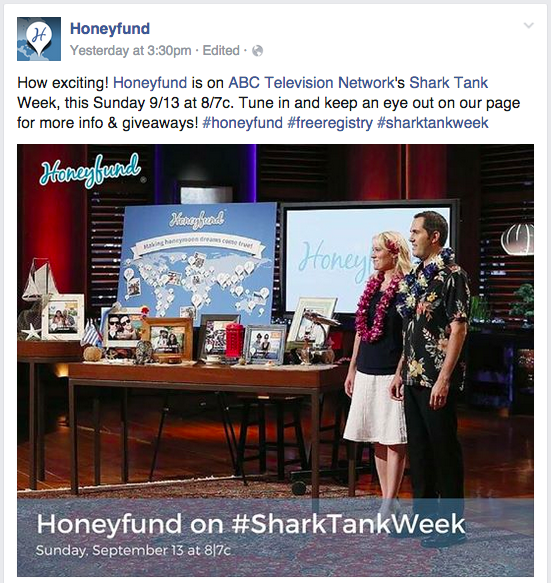 Honeyfund Shark Tank